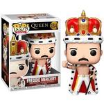 Queen POP! Rocks Vinyl Figure Freddie Mercury King 9 cm nr. 184