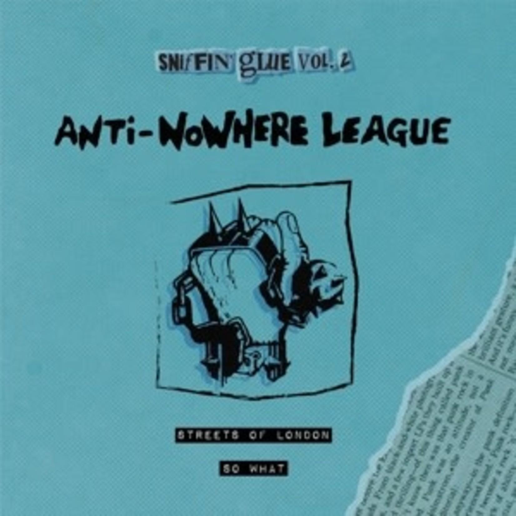 "ANTI NO-WHERE LEAGUE 7-STREETS OF LONDON (7"") op blauw vinyl"