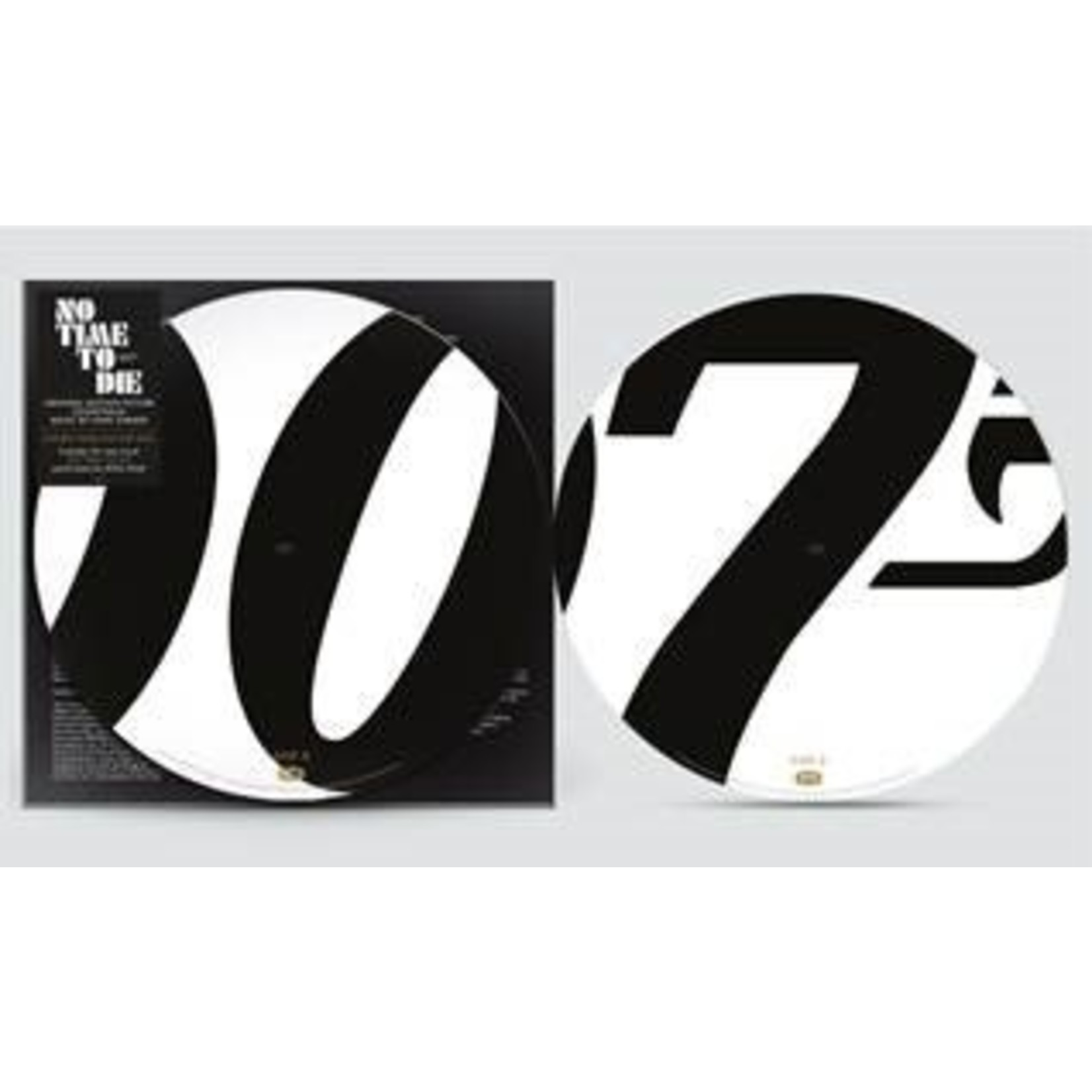 OST - NO TIME TO DIE -PD- (VINYL)