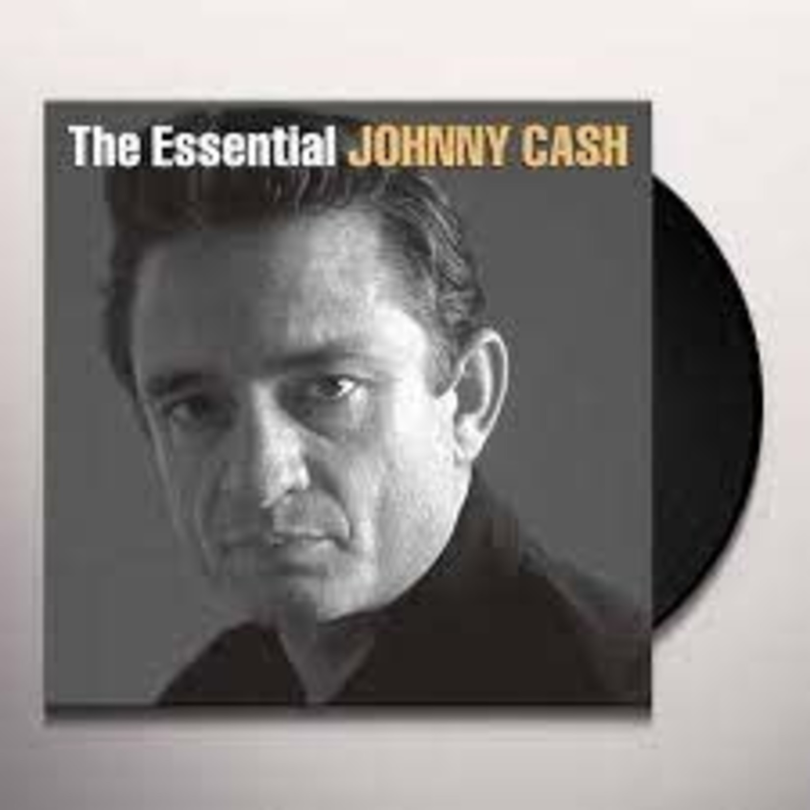 JOHNNY CASH - THE ESSENTIAL JOHNNY CASH 2LP (VINYL)