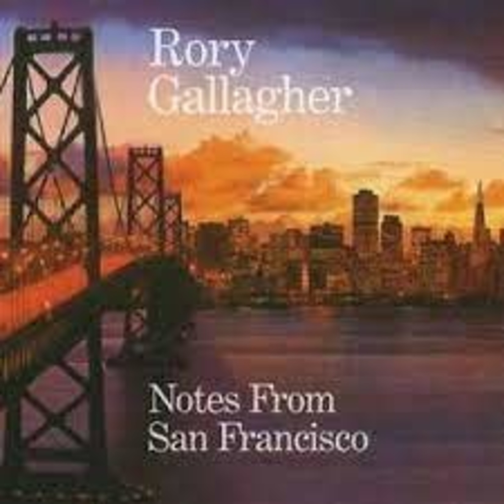 RORY GALLAGHER  - NOTES FROM SAN FRANCISCO  (VINYL)