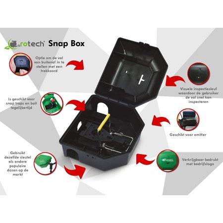 Rotech snapbox Rotech snapbox incl. klem