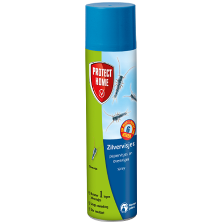 ZILVERVISJES SPRAY PROTECT HOME 400ML.