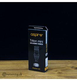 Aspire Résistances Clapton Triton Mini Aspire (X5)