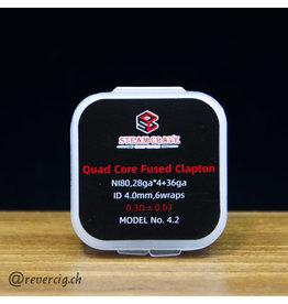 Steam Crave Pack 10 Quad Core Fused Clapton Steam Crave