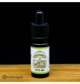 Greeneo White Window  Greeneo100mg cbd 10 ml