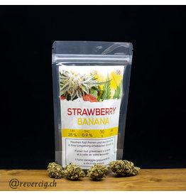 Cannabis 28%CBD 0.9%THC  STRAWBERRY BANANA  10gr
