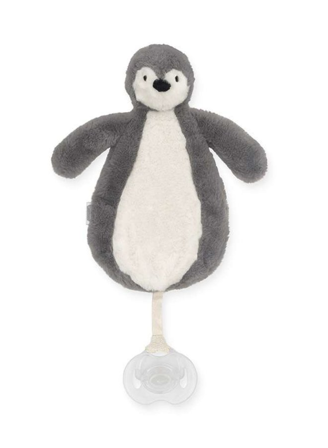Speendoekje Pinguin storm grey