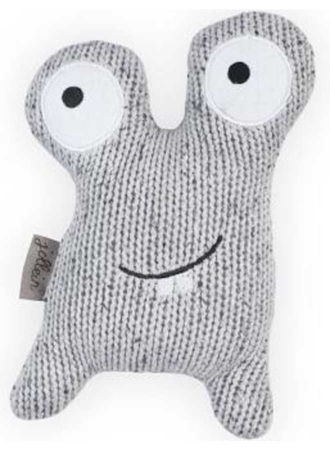 Knuffel monster Confetti grey