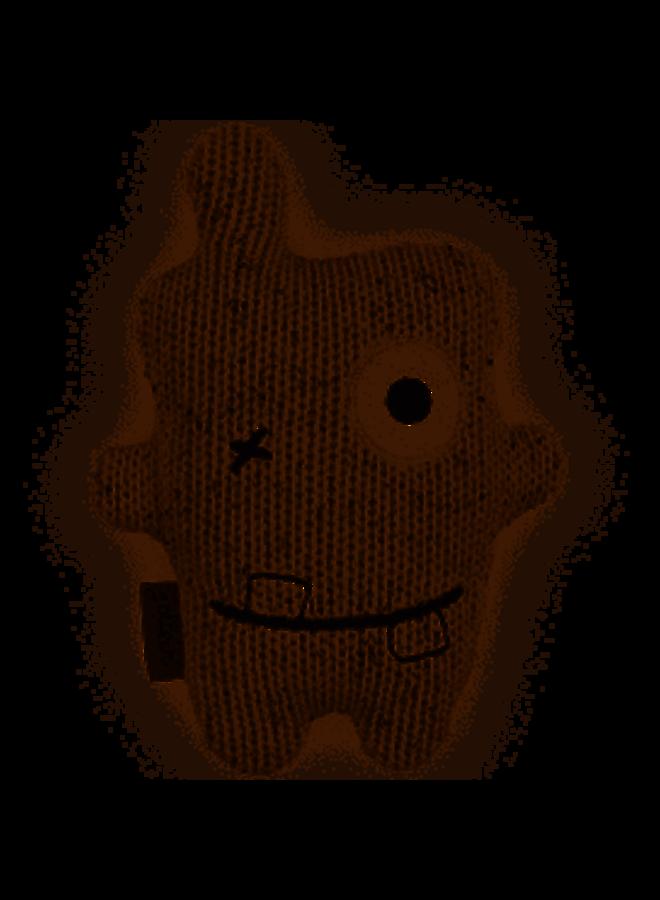 Knuffel monster Confetti naturel