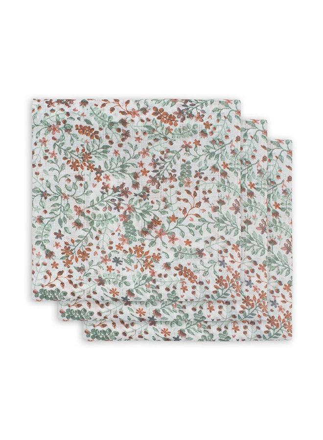Hydrofiele doeken 70x70cm (3-pack) Bloom