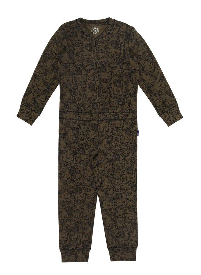 Boys pyjama suit Animals