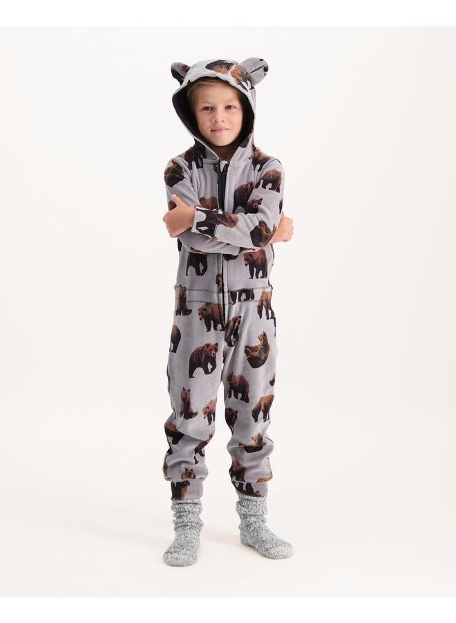 Boys pyjama suit Brown bear