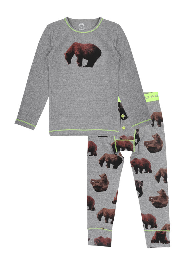 Boys pyjama Brown bear