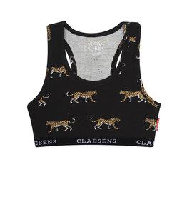 Claesens Girls crop top Black Panther