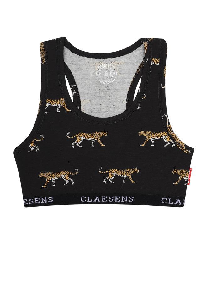 Girls crop top Black Panther