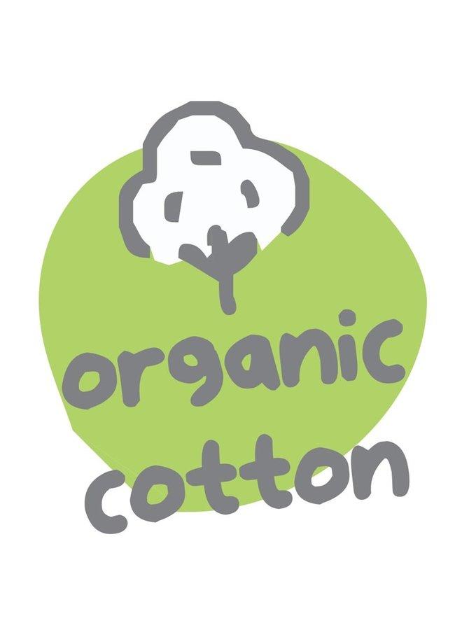 Wikkelromper mouwloos (organic cotton)