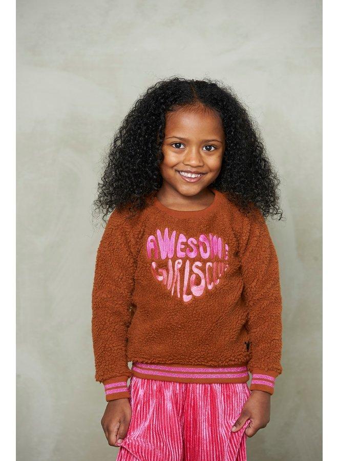 Animal attitude 916.00270 teddy sweater