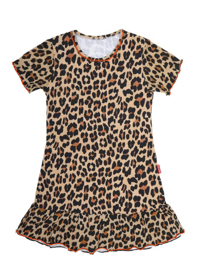 Girls Dress (Brown Panther)