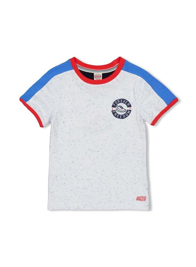 T-shirt Forever - Playground (Wit)
