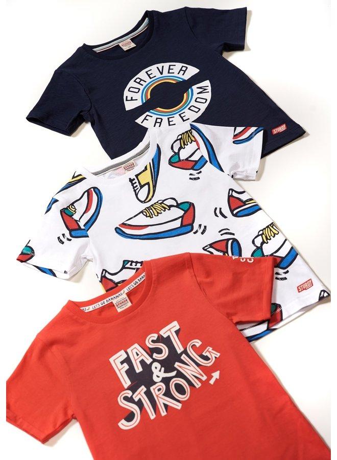 T-shirt Forever - Playground (Marine)