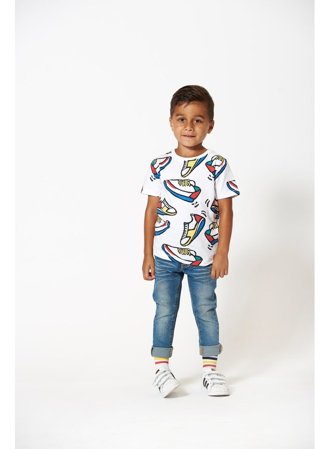T-shirt AOP Sneakers - Playground
