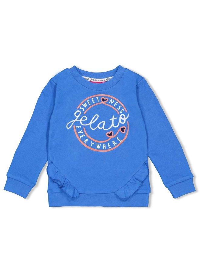 Sweater ruches - Sweet Gelato
