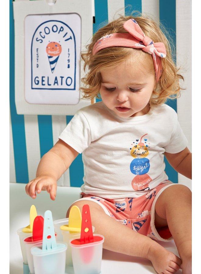 T-shirt - Sweet Gelato (Off white)