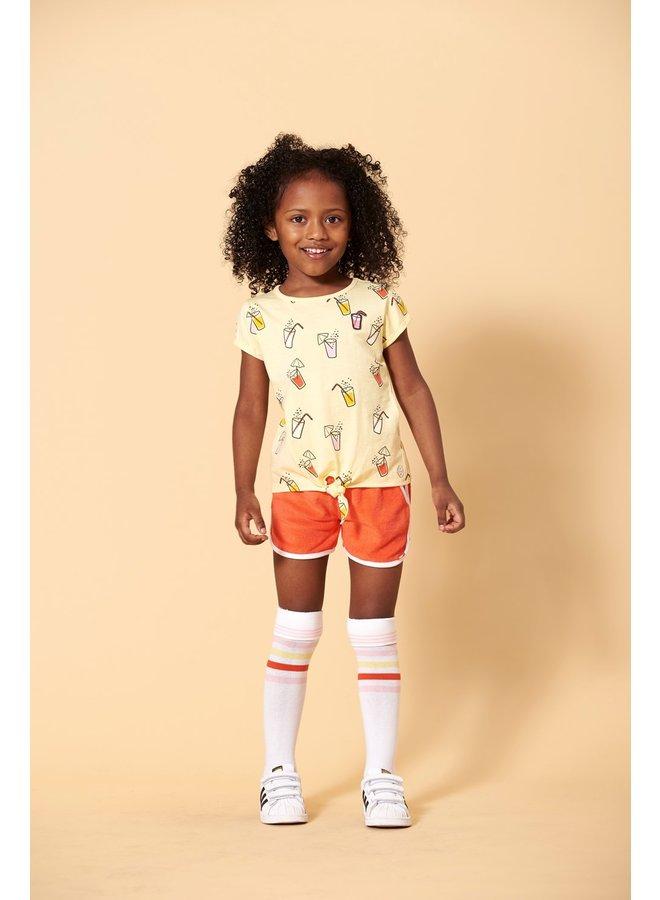 T-shirt AOP - Tutti Frutti (Geel)