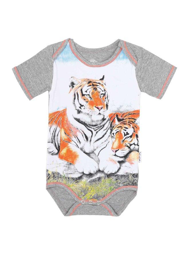 Baby Boys Romper (Tiger)