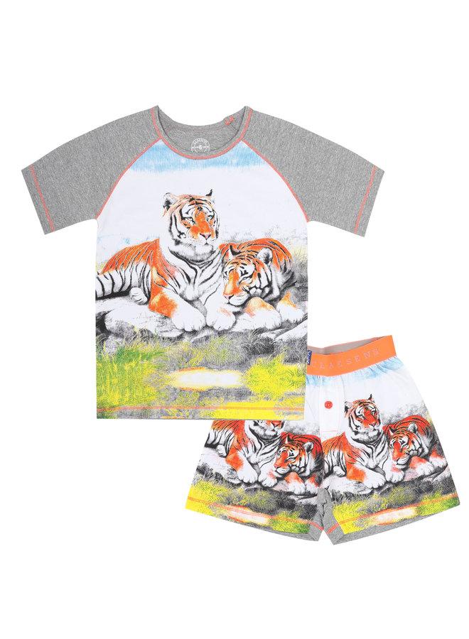 Baby Boys Pyjama (Tiger)