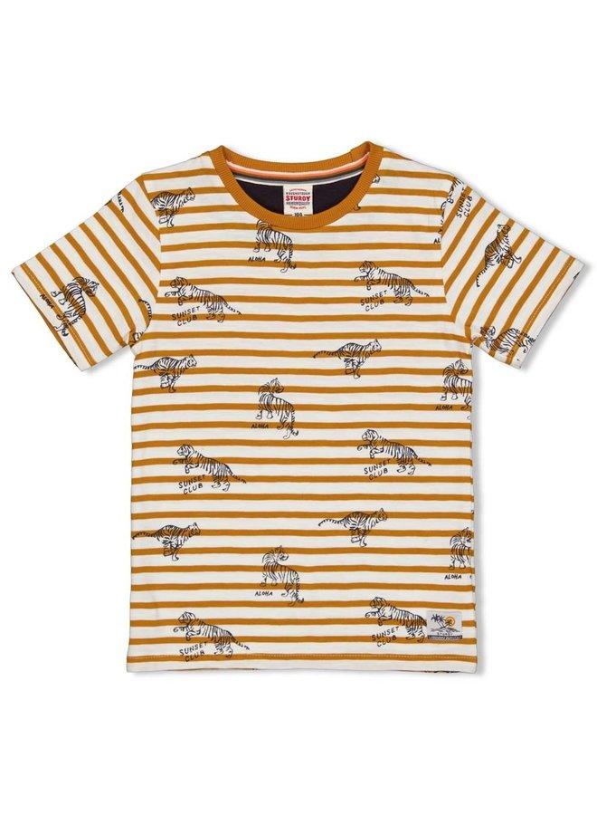 T-shirt streep - Happy Camper