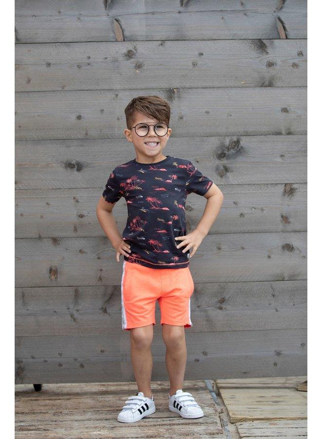 T-shirt AOP - Happy Camper
