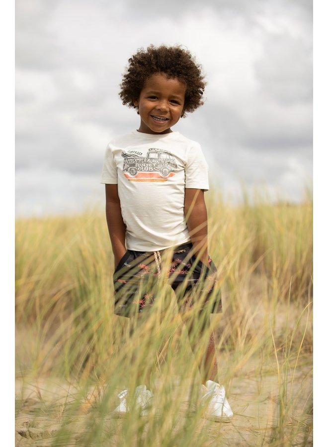 T-shirt - Happy Camper (Off white)