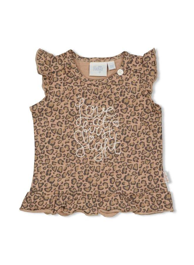 T-shirt AOP - Panther Cutie