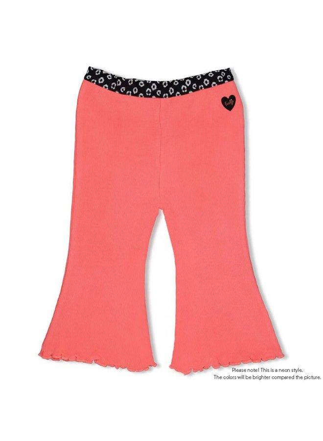 Flare pants - Leopard Love