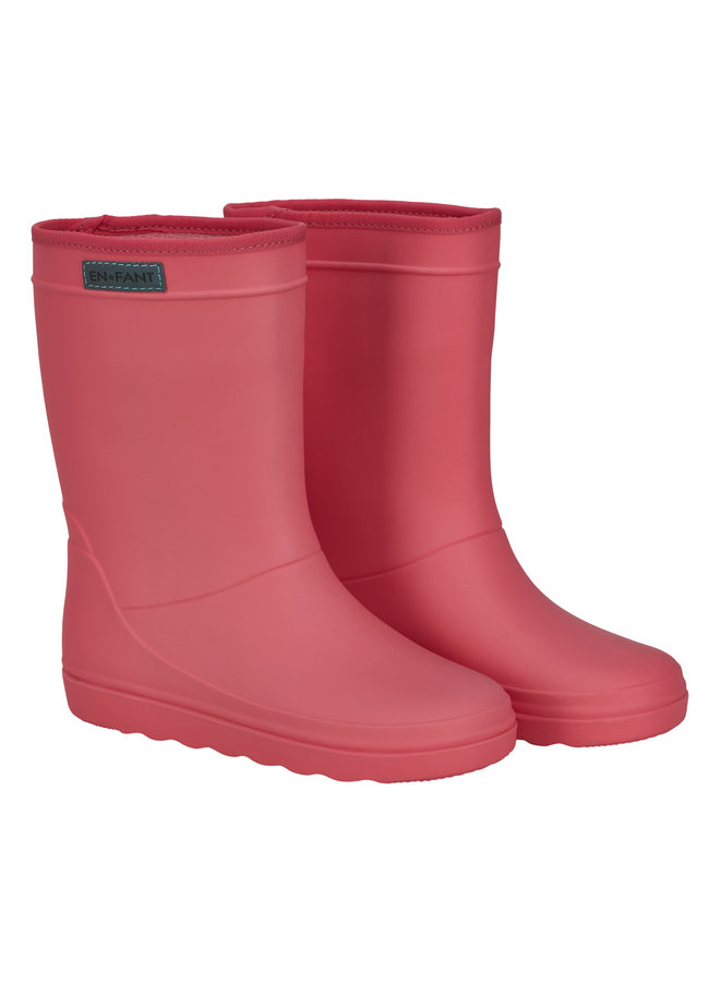 Rubber Rain Boot Solid (Georgia peach)