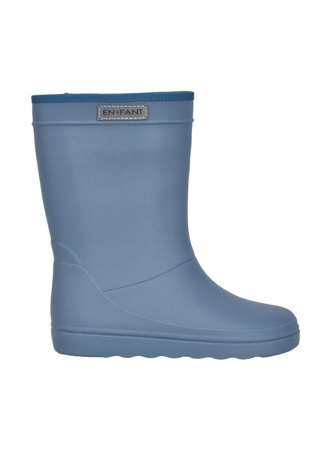 Rubber Rain Boot Solid (Flint stone)