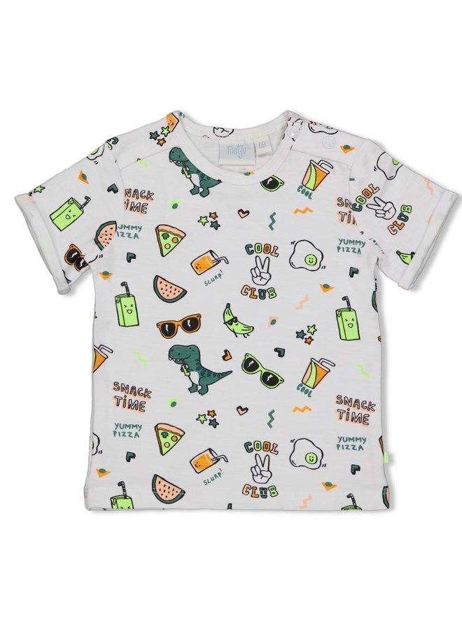 T-shirt AOP - Snacktime