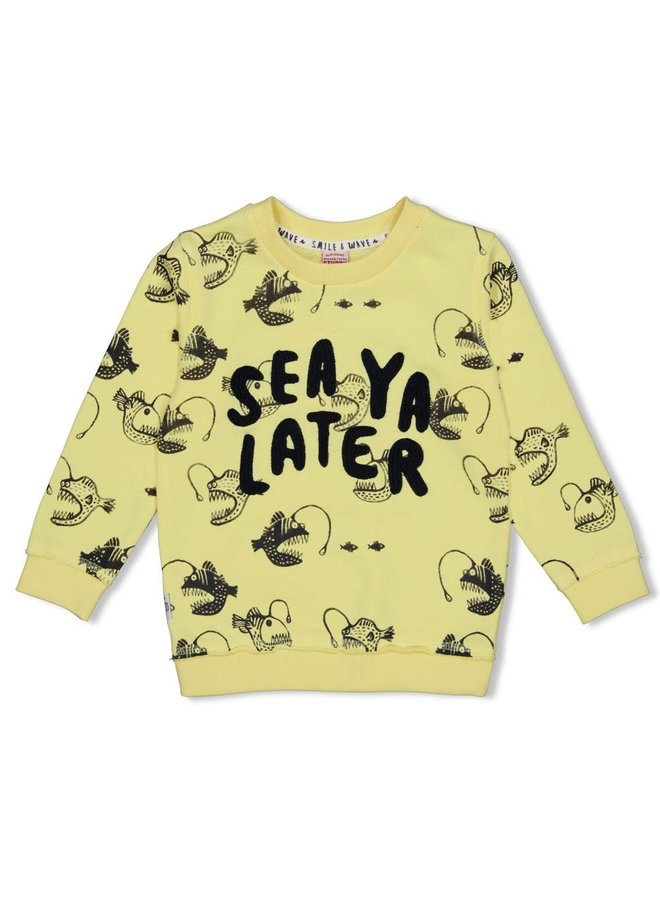 Sweater AOP - Smile & Wave