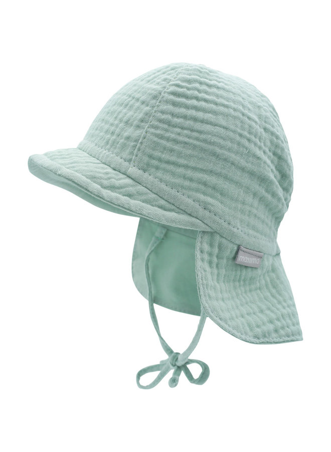 GOTS BABY-cap with visor (Mineral)