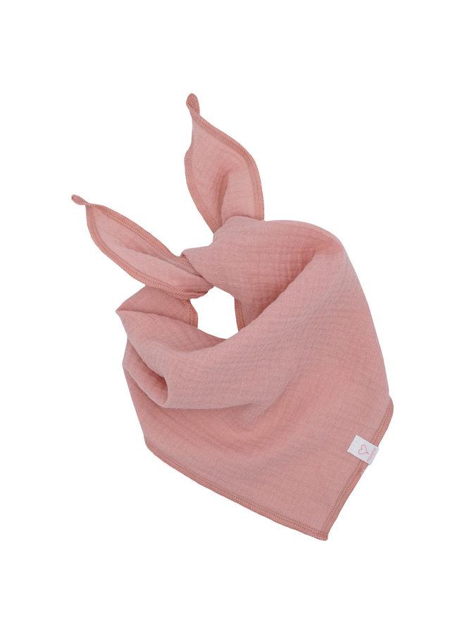 GOTS MINI-triangle cloth (Altrosa)