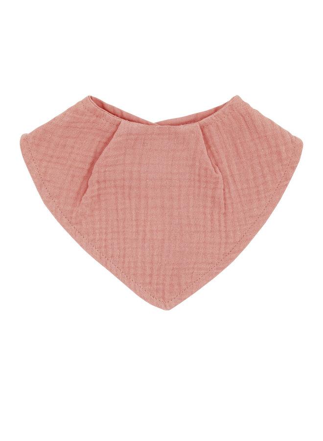 GOTS BABY-neckerchief (Altrosa)