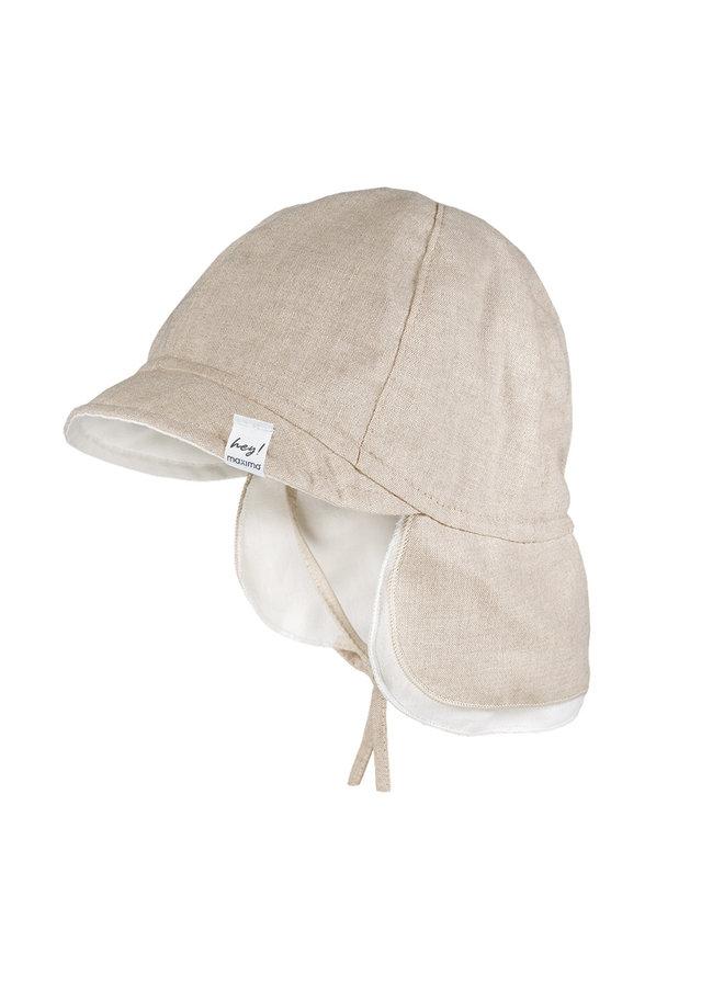 BABY-cap with visor (Beigemeliert)