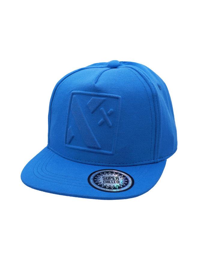 """KIDS-Cap, """"3-D X"""" (Classic blue)"""