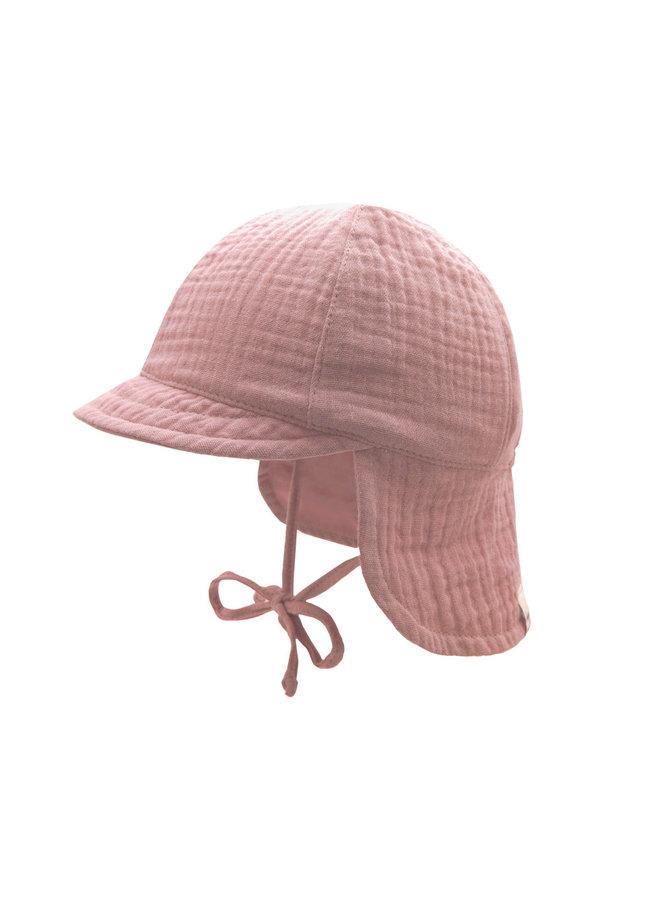 GOTS MINI-cap with visor (Altrosa)