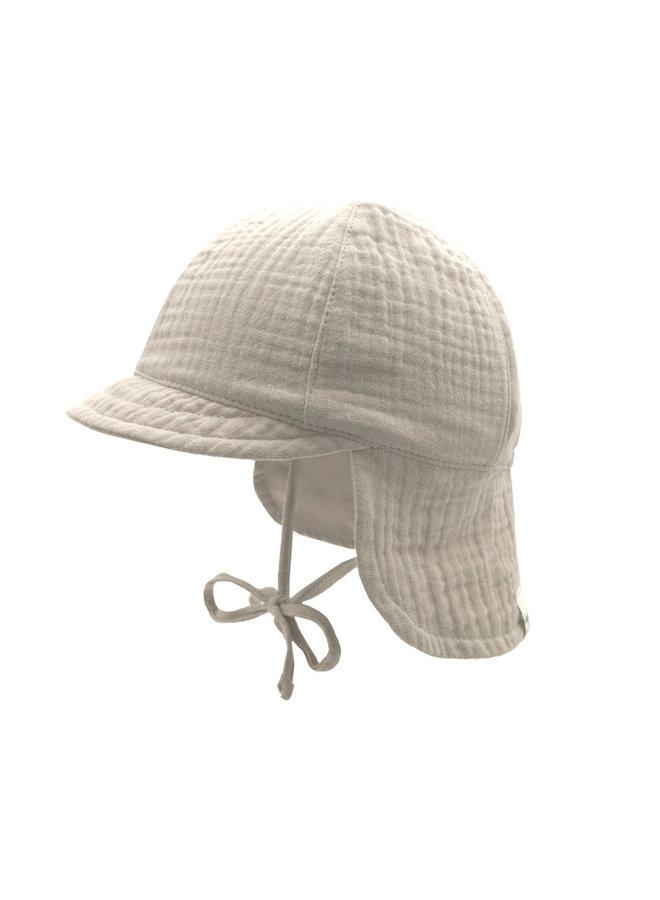 GOTS MINI-cap with visor (Feder)