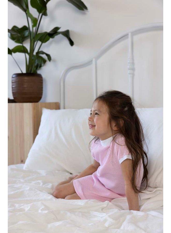 Nachthemd wafel (roze) 305.538.1