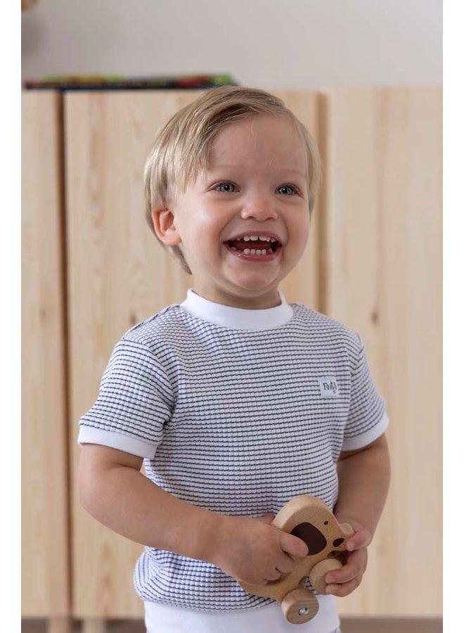 Pyjama kort wafel (marine) 305.539