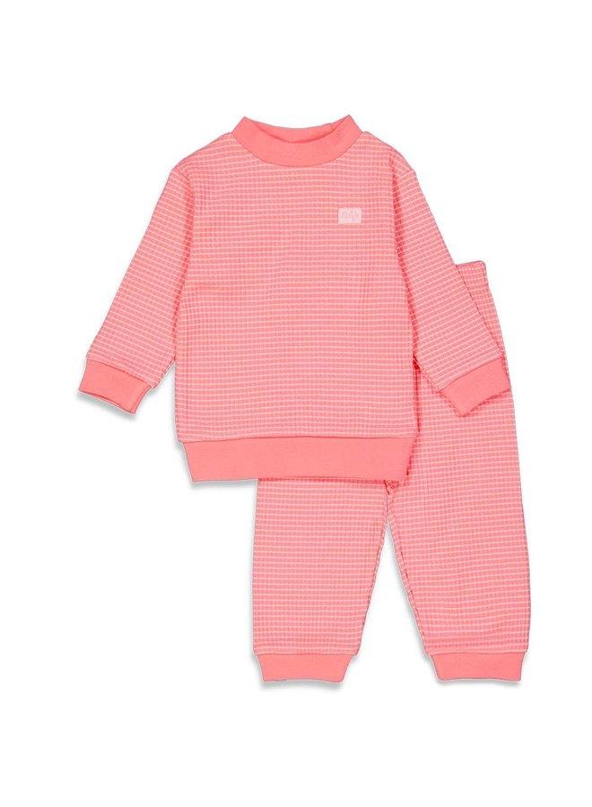 Pyjama wafel (roze summer special) 305.533